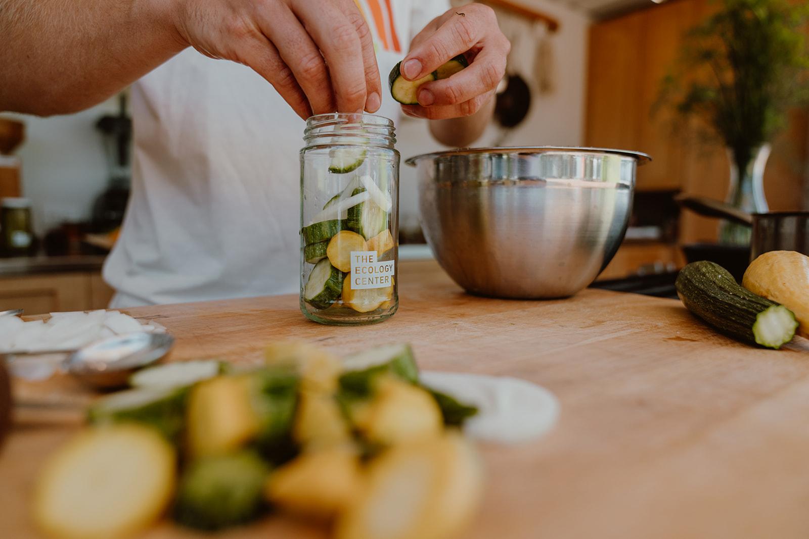 Pickling squash